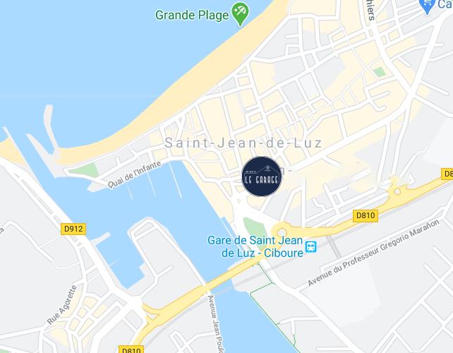 Le Garage - 4 Boulevard Victor Hugo, 64500 Saint-Jean-de-Luz